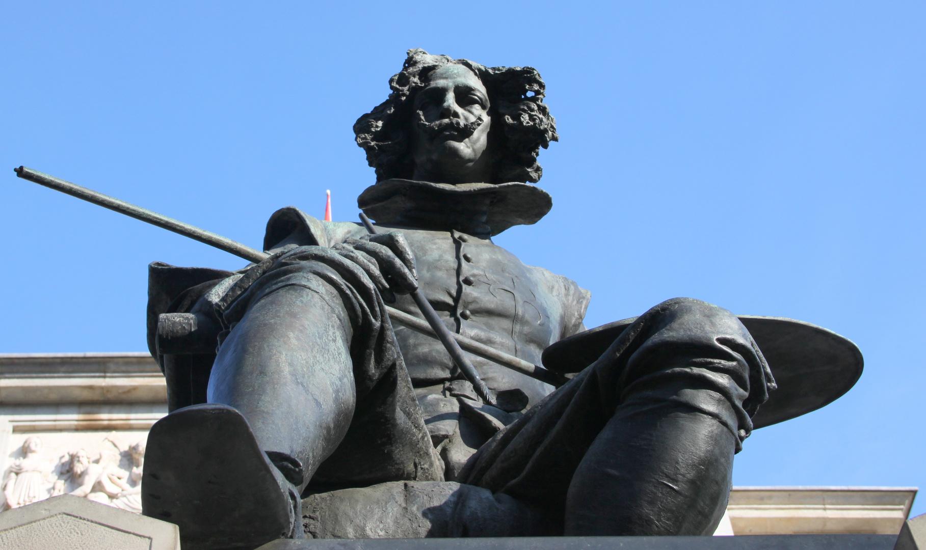 Estatua de Velazquez.4. Museo del Prado.