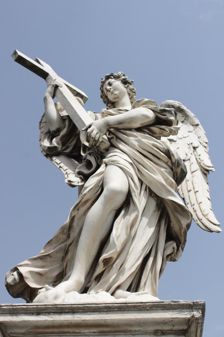Estatua en roma