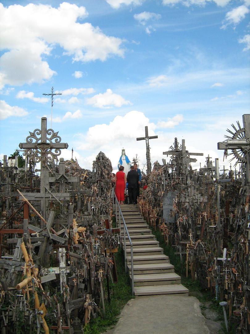 Estelle KLEFFERT   Colline des croix, Lituanie