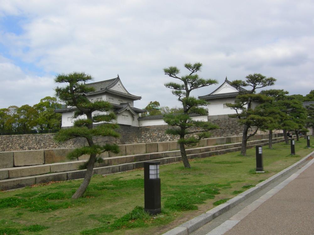 Esterno castello di Osaka