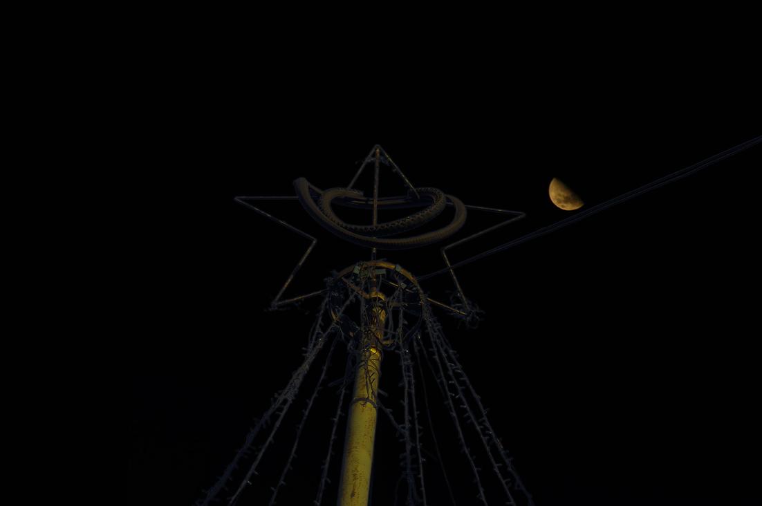 Estrella con luna
