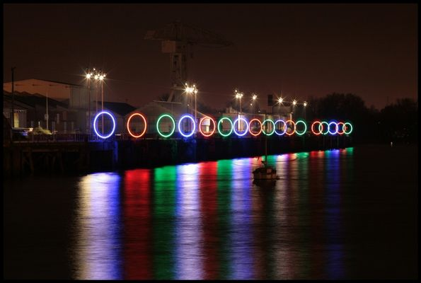 Et la Loire s'illumine!