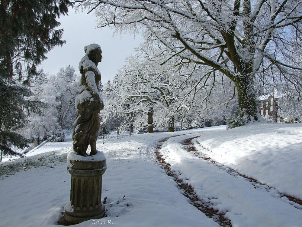Et maintenant sous la neige!