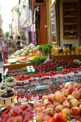 étalage Aix en provence