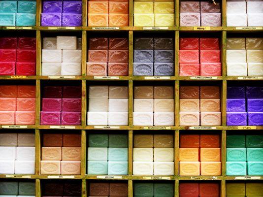 Etalage de couleurs