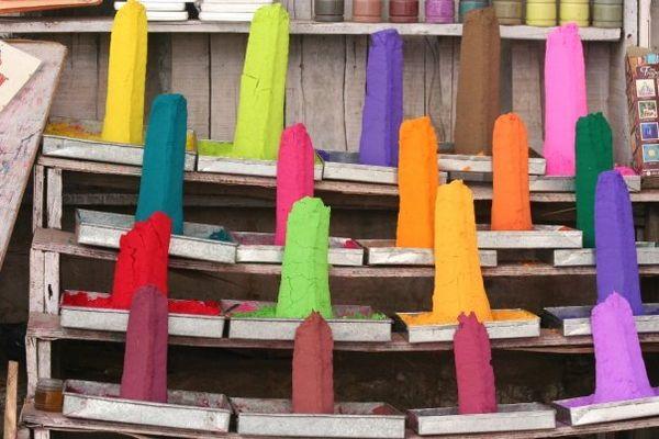 Etale de couleurs