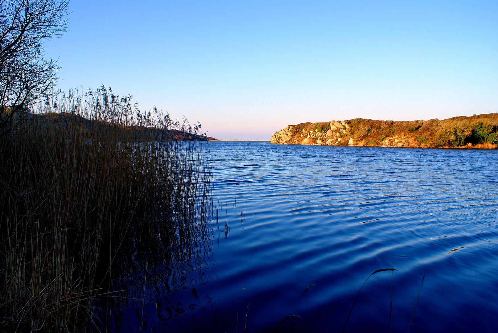 étang de trunel finistere sud
