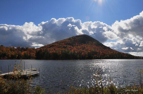 étang Sugar Loaf en automne