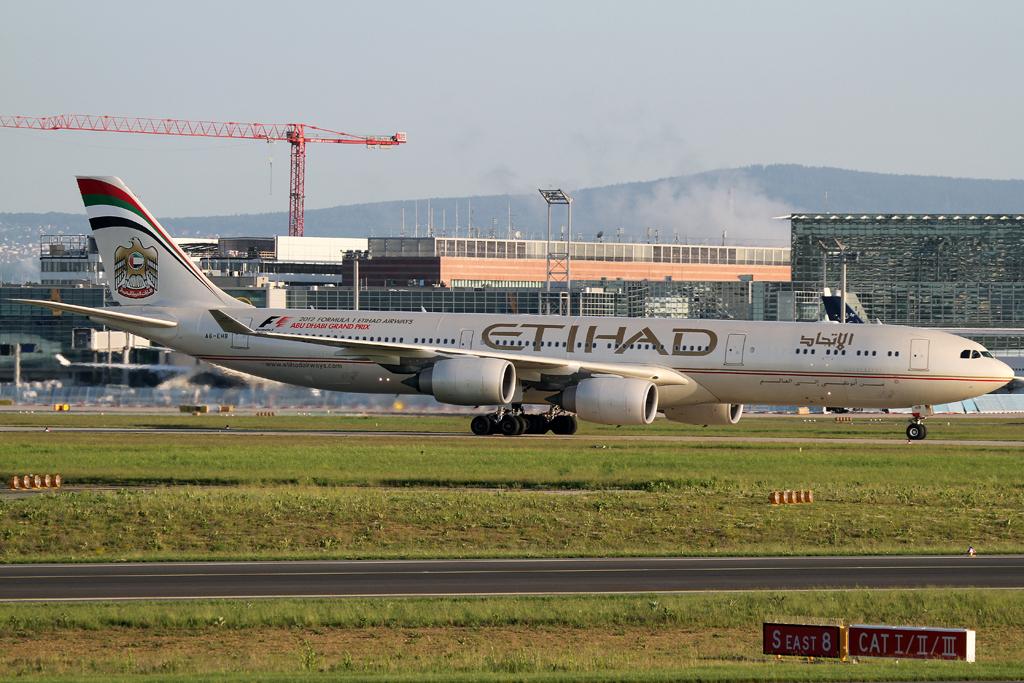 Etihad A340 500