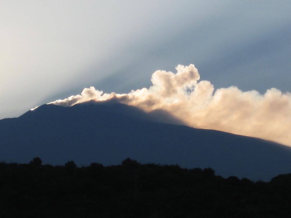 Etna all'alba