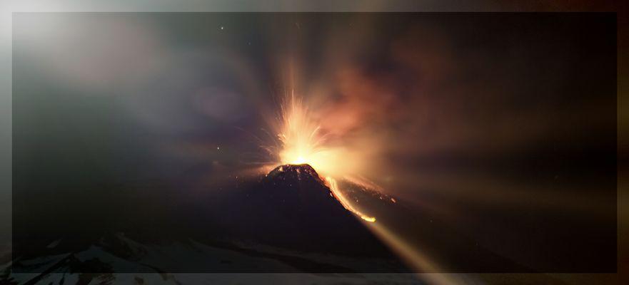 Etna, eruzione 14.12.13