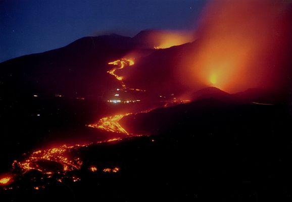 Etna Juli 2001