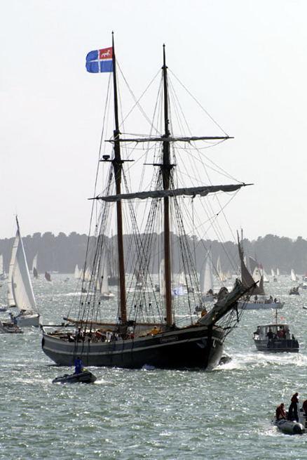 Etoile de France, goélette de Saint Malo