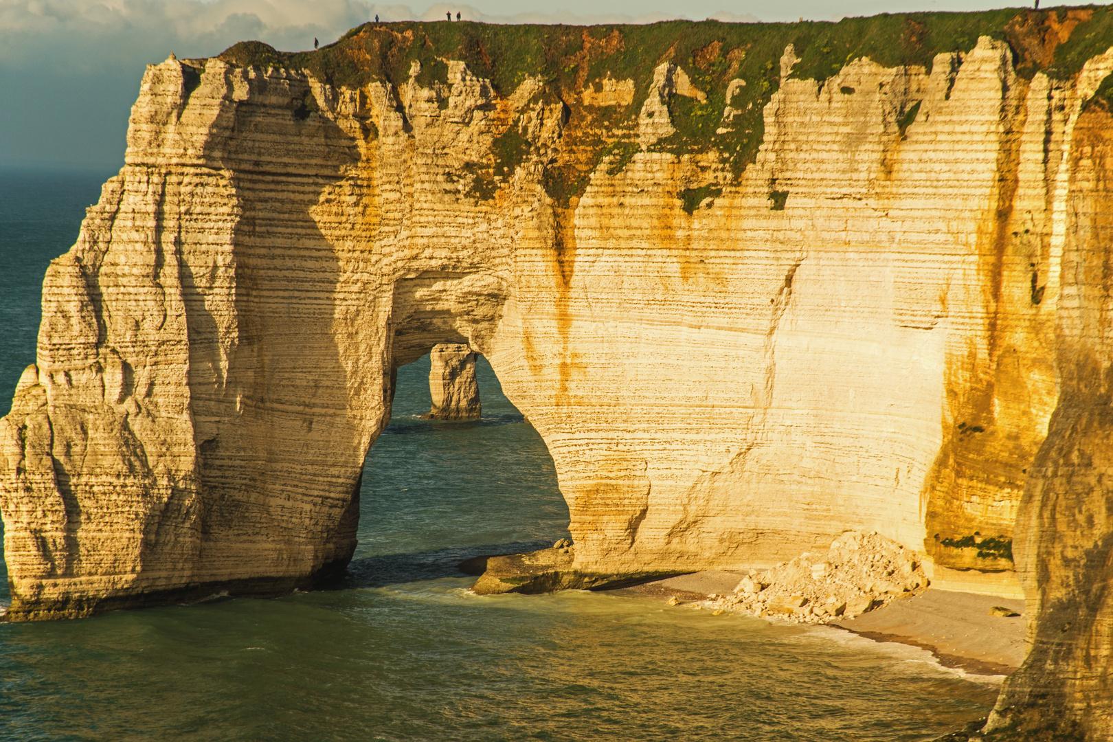 Etretat in der Haute-Normandie.