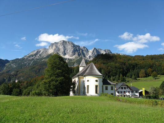 Ettenberg mit Untersberg
