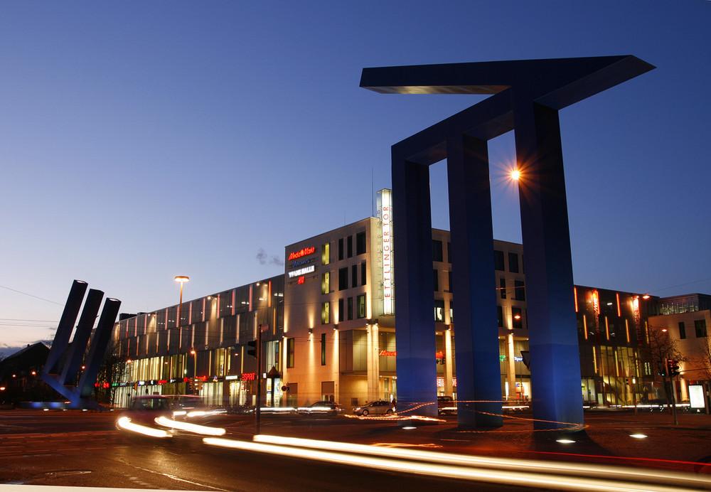 Ettlinger Tor Karlsruhe Foto Bild Architektur