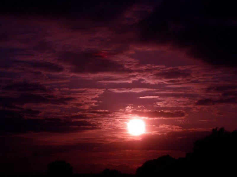 Etwas anderer Sonnenuntergang