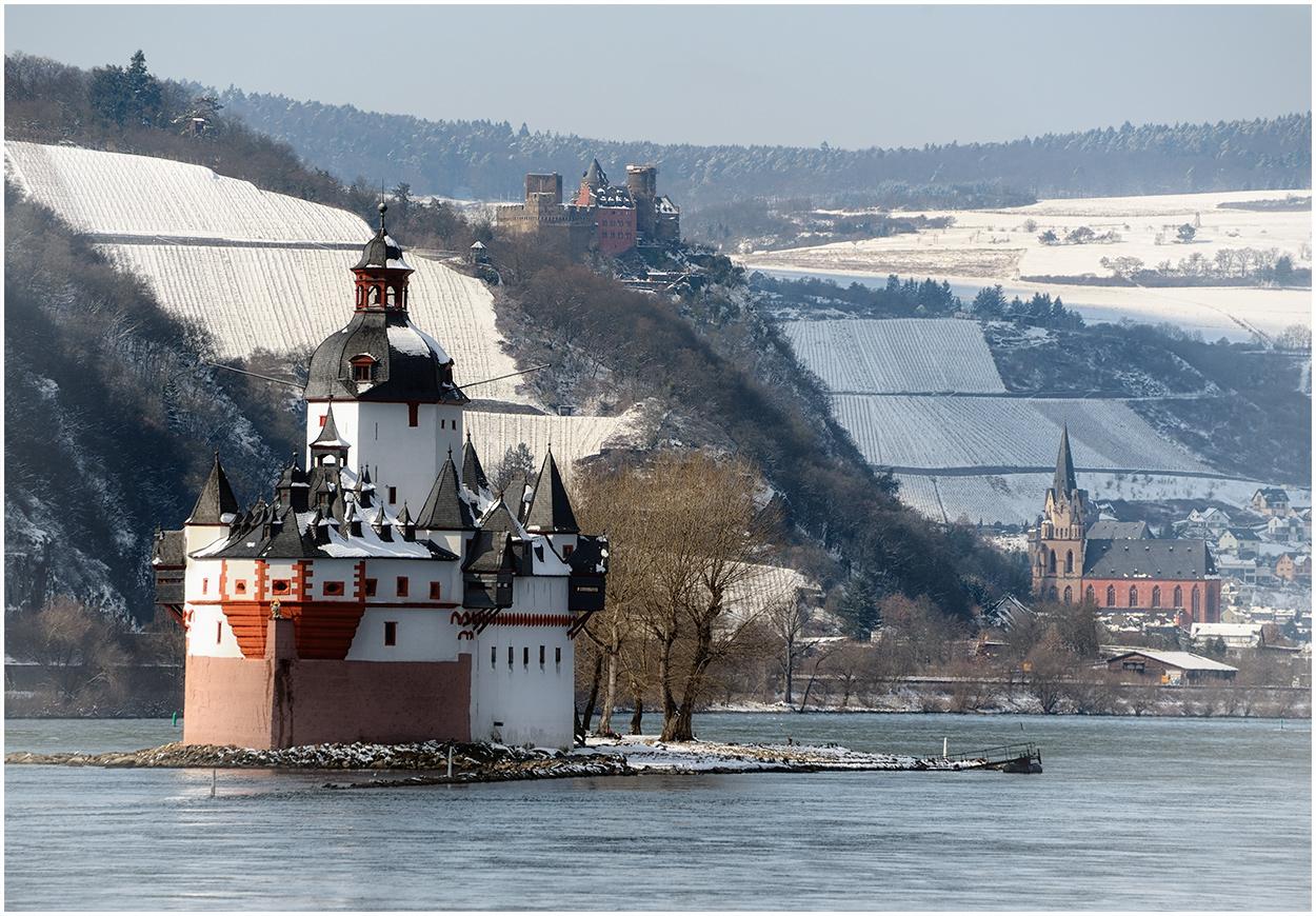 Etwas Winter am Rhein