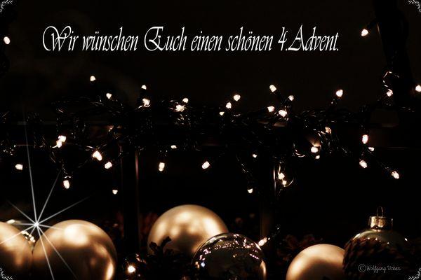 Euch allen einen schönen 4.Advent.