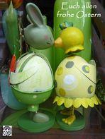 Euch allen Frohe Ostern.