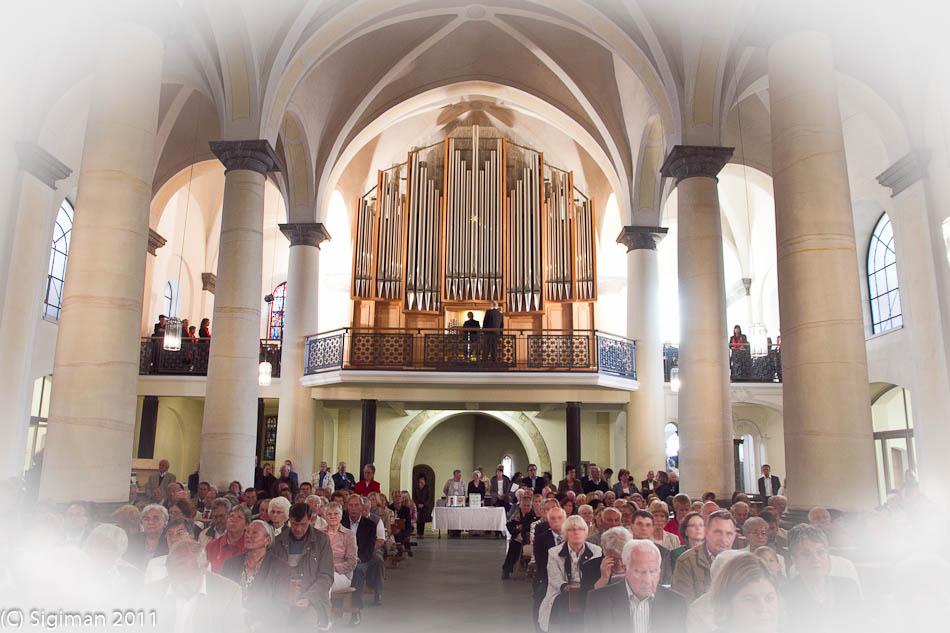 Eule-Orgel Einweihung