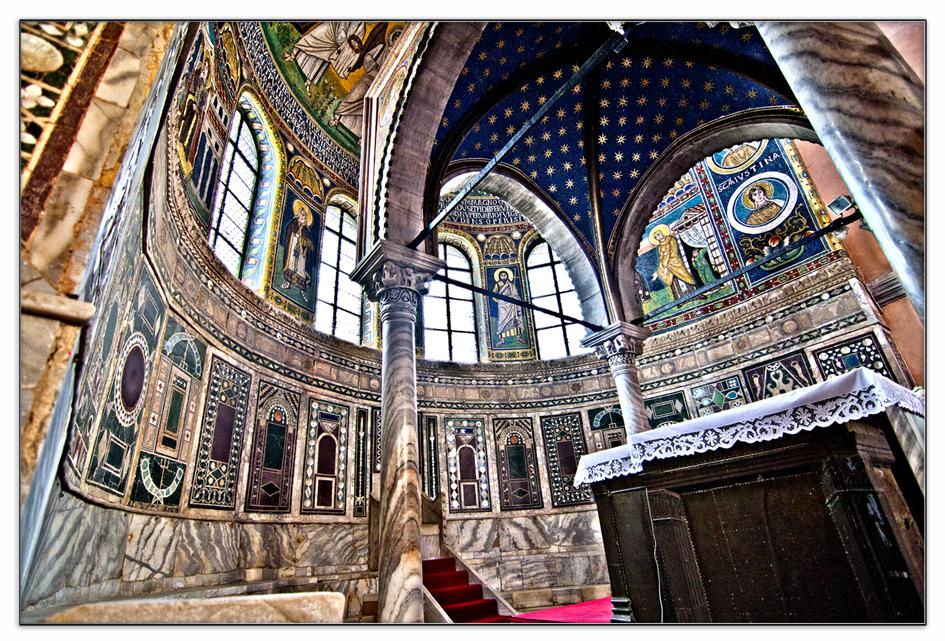 Euphrasius-Basilika Kathedrale in Porec Kroatien