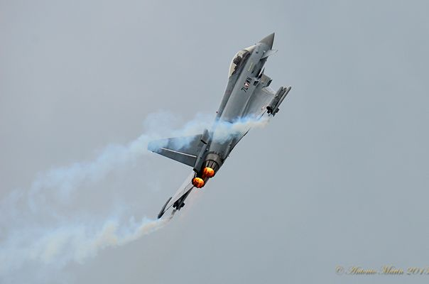 Euro fighter Austriaco a Zeltweg, AIR POWER 2013