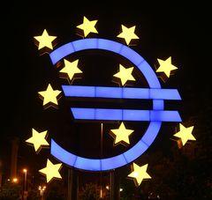 Euro-Skulptur  -mal andersrum-