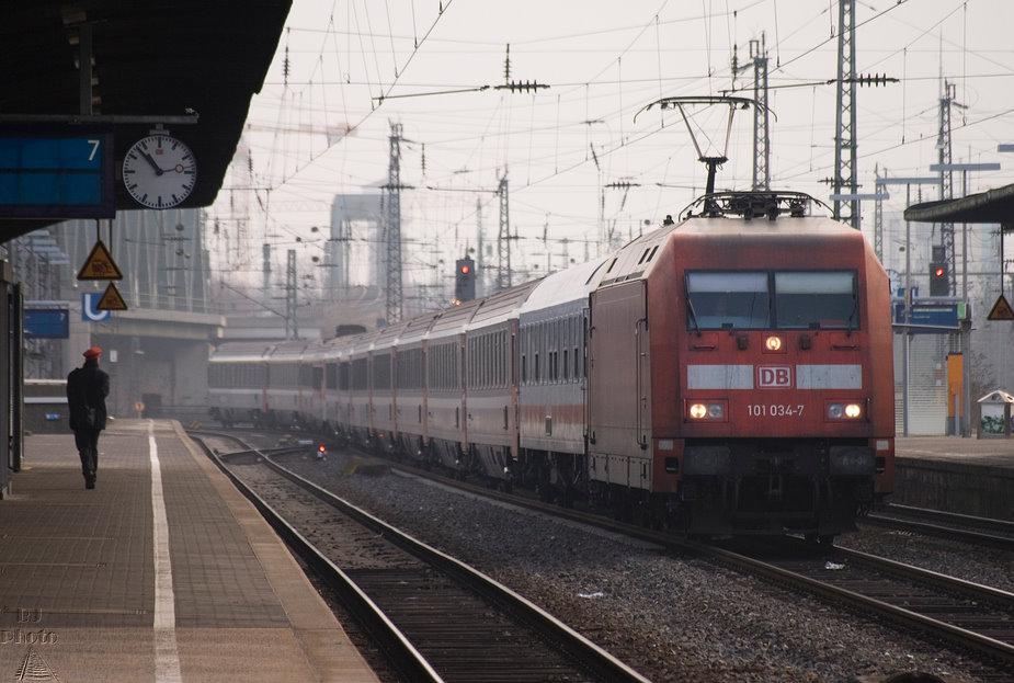 Eurocity in Köln Deutz