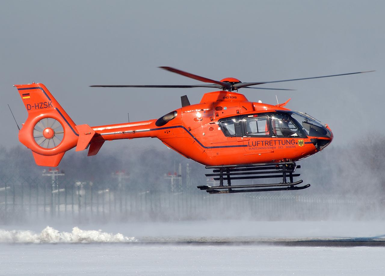 Eurocopter EC-135 vom Bundesministerium des Innern