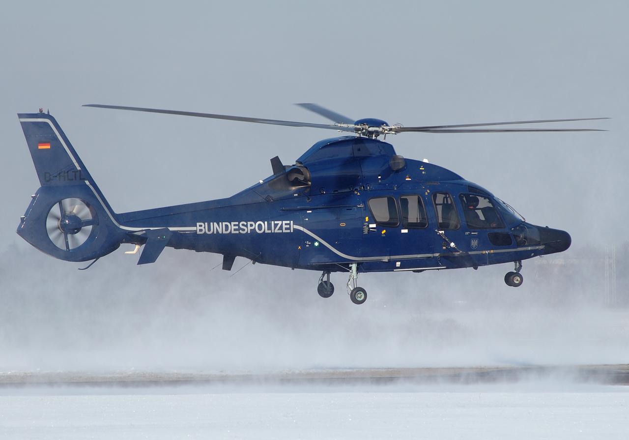 Eurocopter EC155 der Bundespolizei