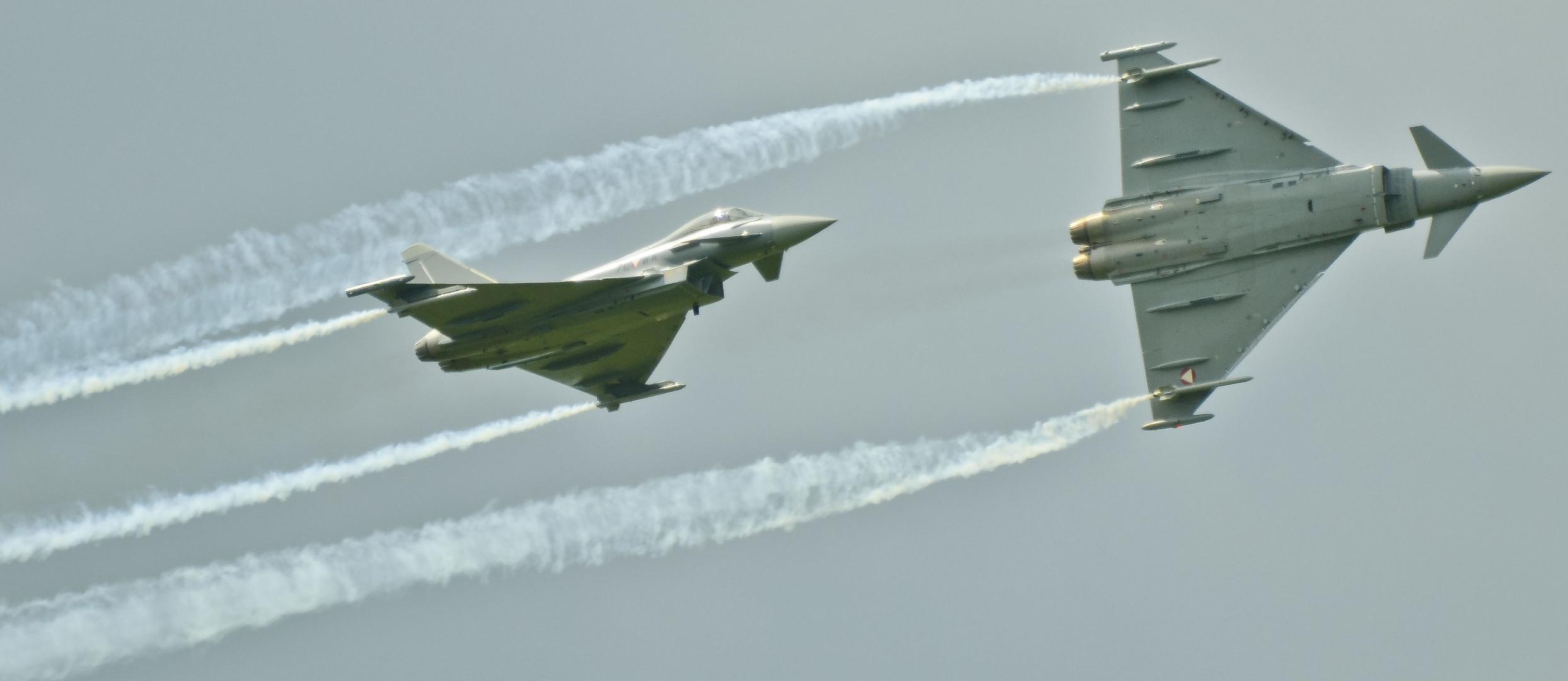 Eurofighter im Kampf