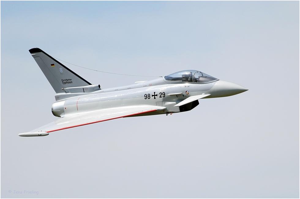 Eurofighter Typhoon RC Werbeaufnahme :-)