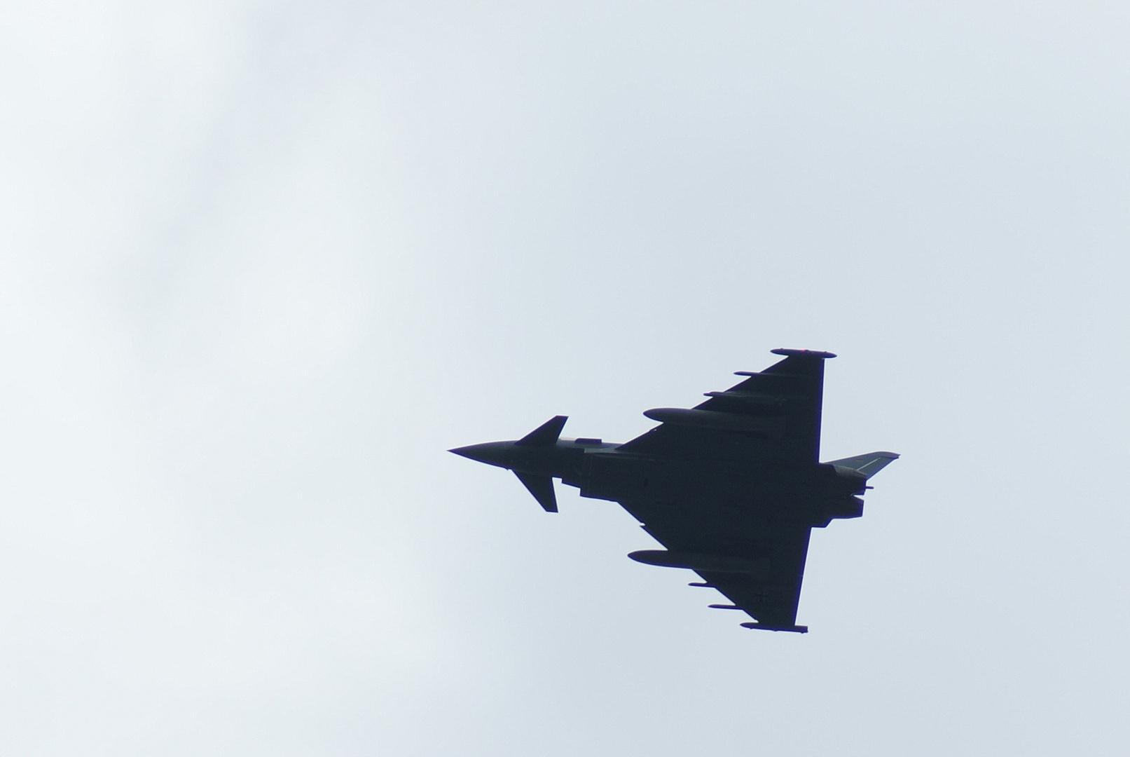 Eurofighter unterwegs...