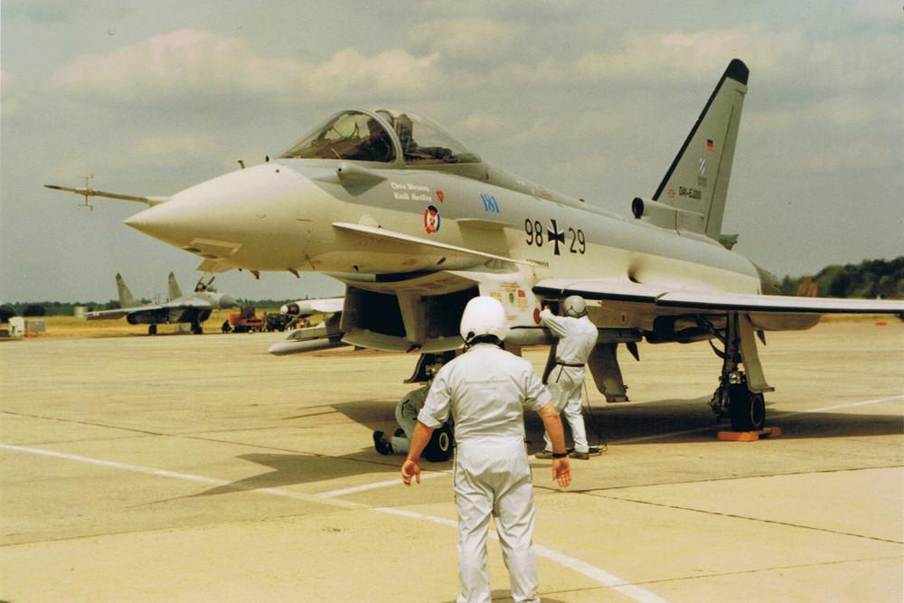 Eurofigther ILA 1996 Startvorbereitung