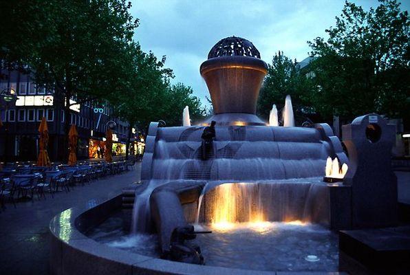 Europa-Brunnen in Dortmund