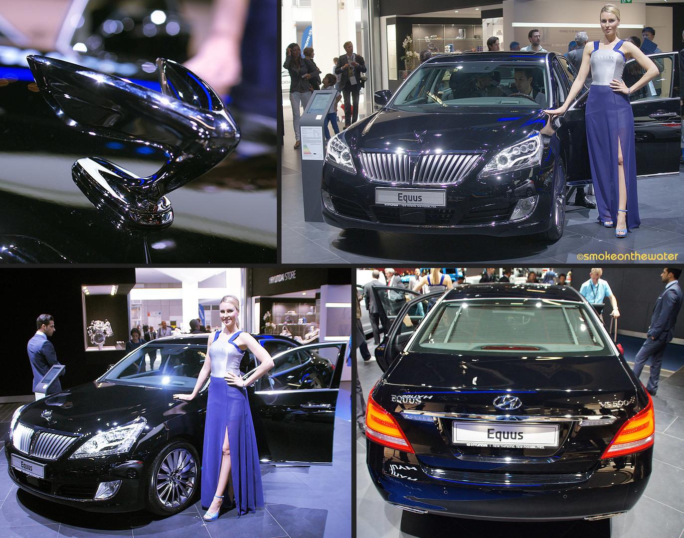 Europapremiere: Hyundai Equus VS 500