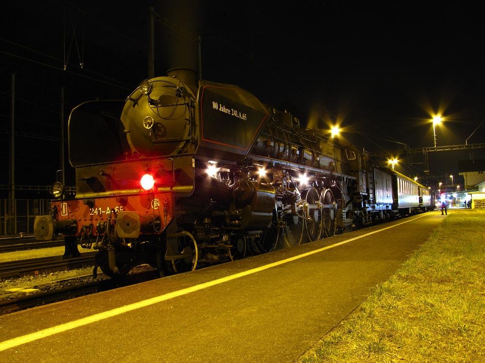 Europa`s grösste handbefeuerte Dampflokomotive