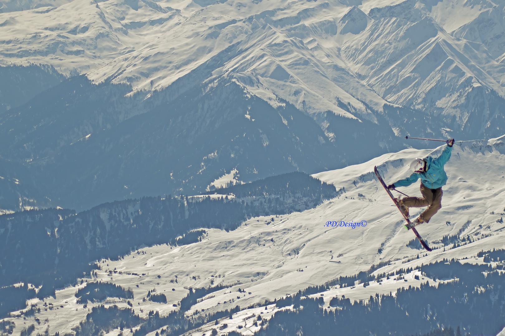 European Freeskiing Contest Laax 2014