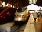 Eurostar-Zug in Paris-Nord