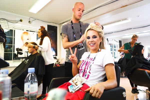Eurovision Song Contest 2013 – Krista Siegfrids (Finland) backstage (Ding Dong!)
