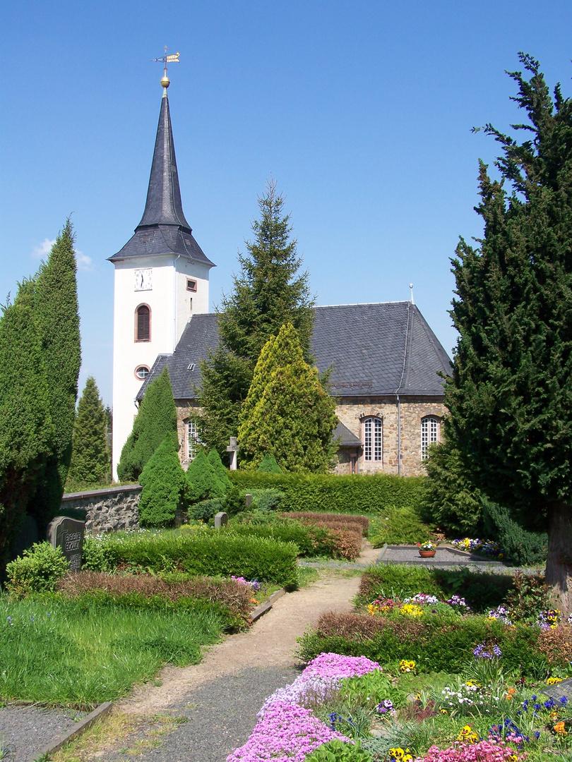Ev.-Luth. Dorfkirche Beerwalde (Mittelsachsen)