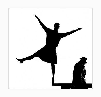 Eva vom Ballett - Otto vom Schauspiel