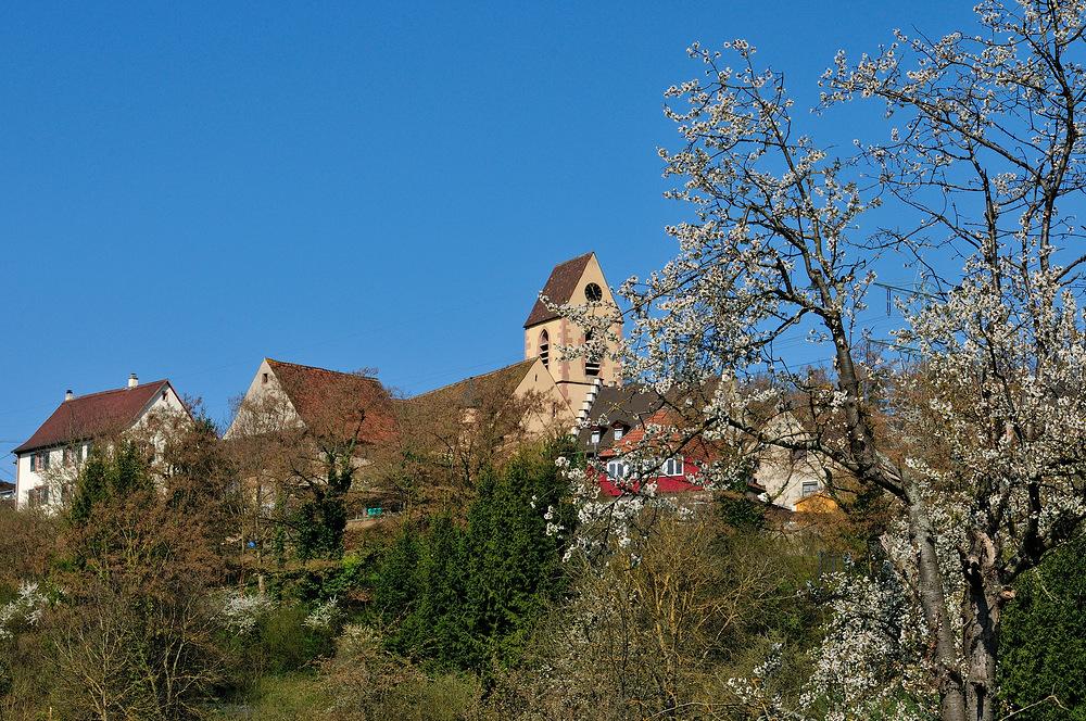 Evangelische Kirche v. Rötteln - ein kleiner Weiler von Lörrach - Nr.2