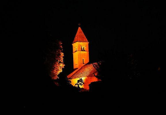 Evanglische Kirche in Taize Burgund Oktober 2005