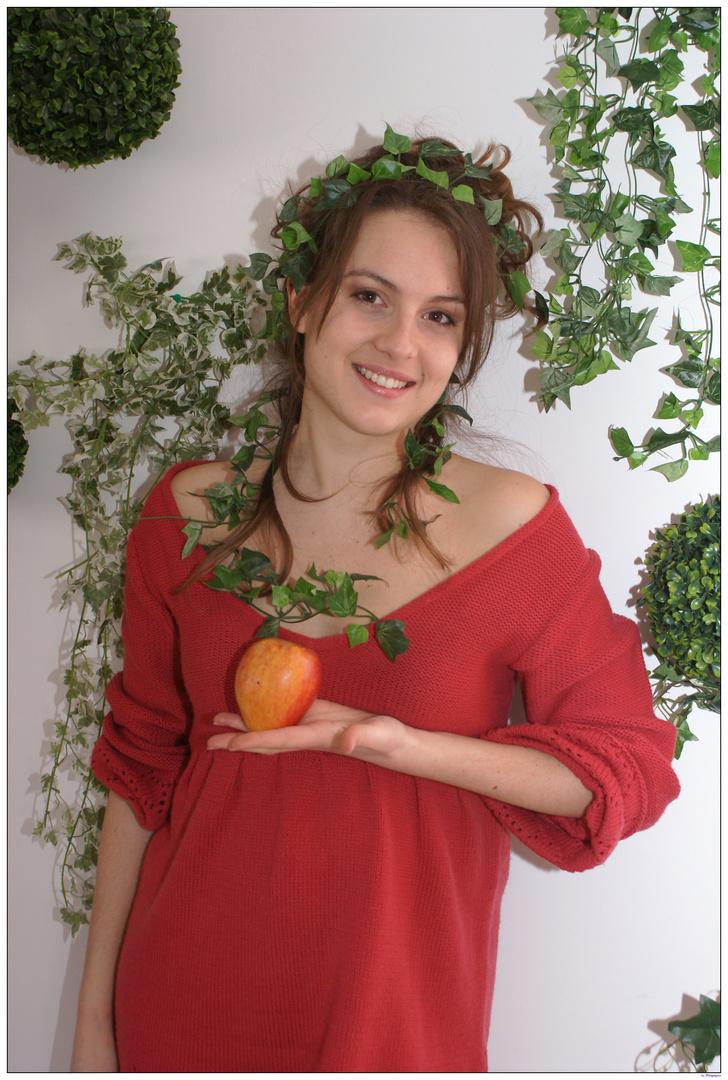 Eve et le fruit défendu