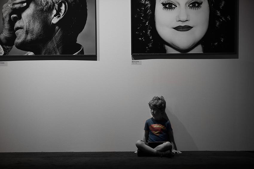 Even Superman needs a rest