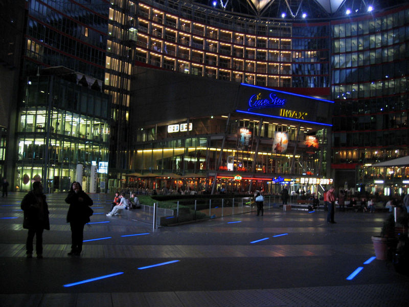 Evening at the Sony Center