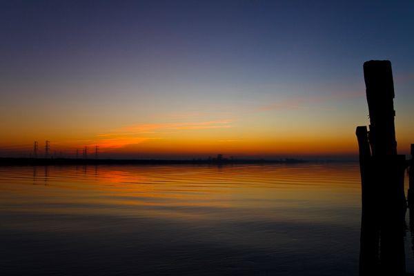 Evening falls....