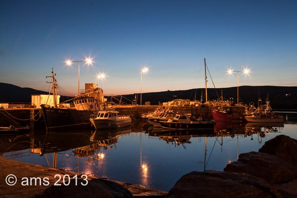 Evening in Portmagee